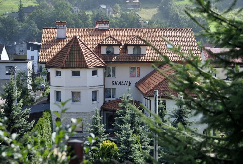 Budynek hotelu Skalny
